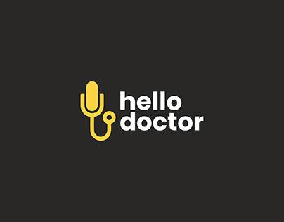 Online service logo . Help center logo . Medical logo