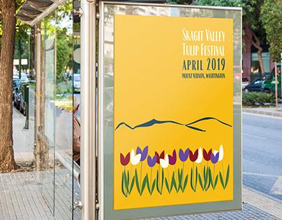 Skagit Valley Tulip Festival Logo Rebrand + Collateral
