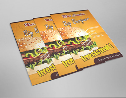 Flyers - Max Lanches
