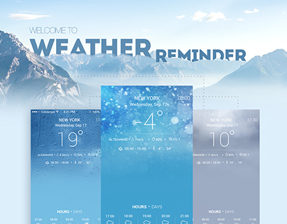 Weather Reminder iOS/android App