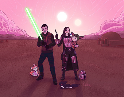 Rogue One - The Mandalorian family
