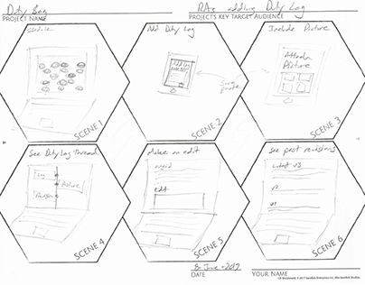 ResLife Portal - UX Storyboard concepts