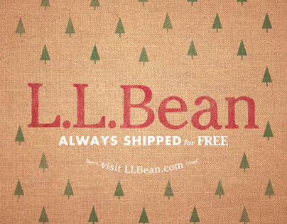 L.L. BEAN - End Tag Concepts for Holiday