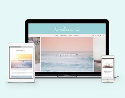 Her Endless Summer Site Branding