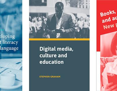 Academic book cover design