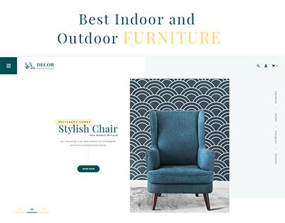 Furniture - E Commerce Frontpage
