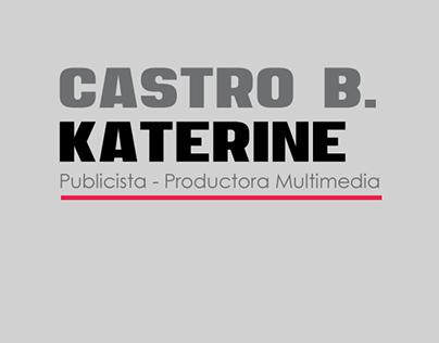 Hoja de Vida - Katerine Castro B.