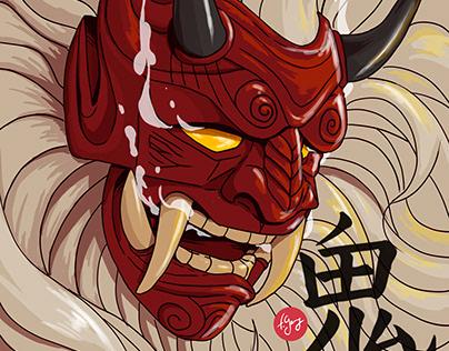 Démon japonais