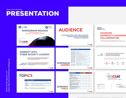 Tech Symposium Branding
