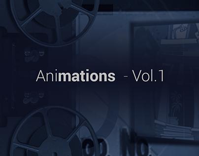 Animaciones Vol. 1