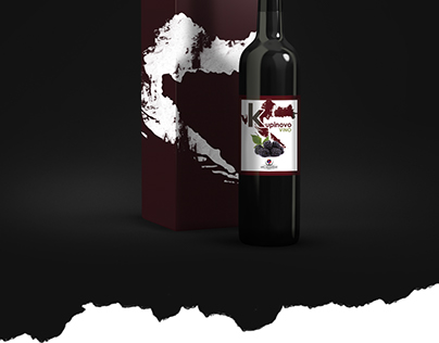 Wine Label and Packaging Box
