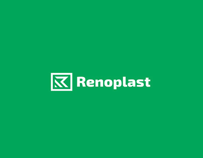 Renoplast - concept logo and stationary redesign.