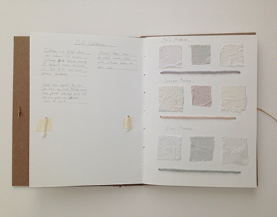 Natural Dye Sample Book