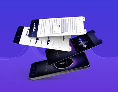 Recording analysis app-UIUX