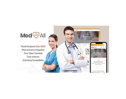 Medical Clinic Center WordPress Theme