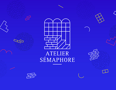 Atelier Sémaphore - Identity design