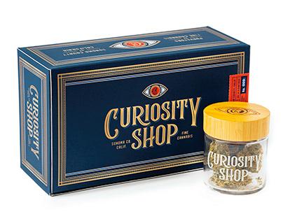 Curiosity Shop Cannabis - Brand & Packaging Design