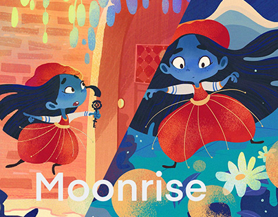 Moonrise| Children book illustration