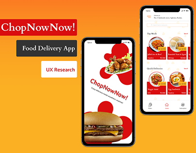 Food Delivery UX Research