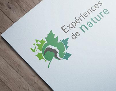 Expériences de Nature / logo