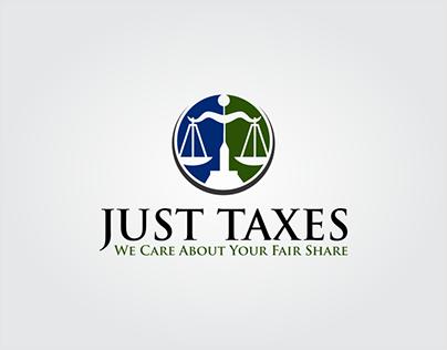 Just Taxes LOGO DESIGN
