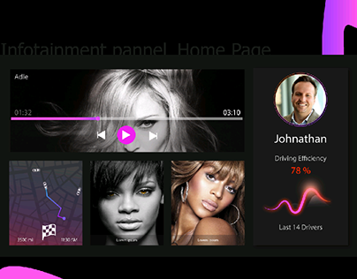 Infotainment -Home page
