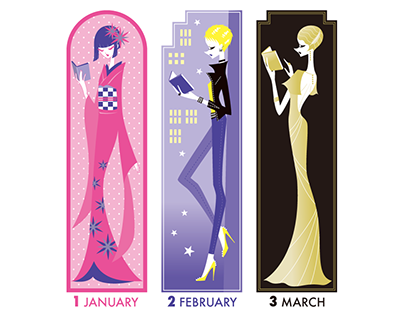 Bookmarkers Calendar 2020
