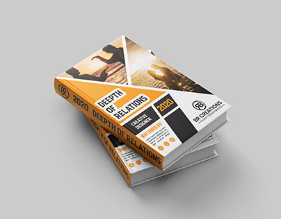 Book Cover Design With Free Mock-Up Template Download