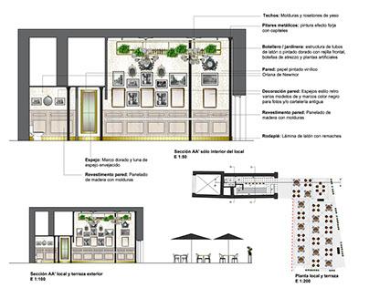 Propuesta de Reforma para Bar de Tapas Plaza Candelaria