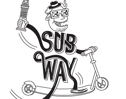 Subway T-Shirt Design