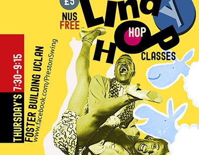 Preston Swing Magazine Advert: Lindy Hop Classes