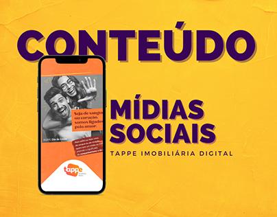 Conteúdo para redes sociais | Tappe