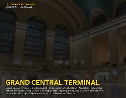 Grand Central Digital Product Design