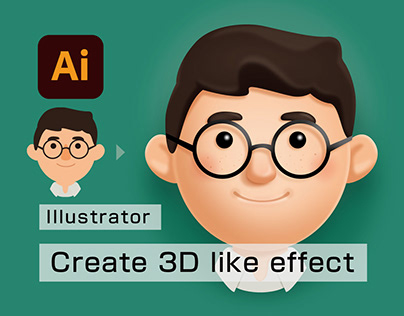 Create 3D like effect