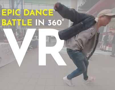 Epic Dance Battle in 360 VR