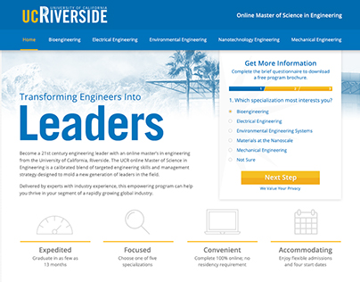 University of Riverside California Website