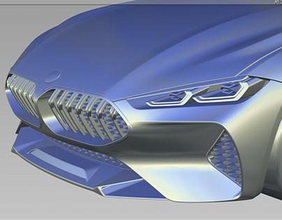 Alias & Vred ——BMW 8 Series Concept