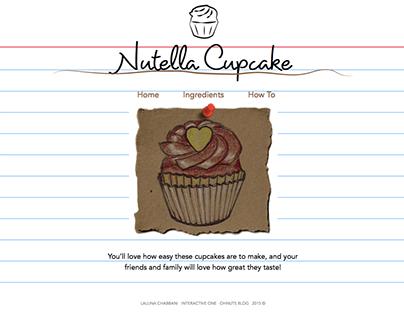 Nutella Cupcake Recipe – Web Design