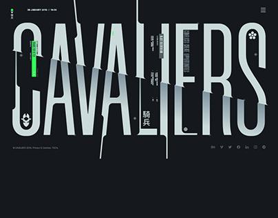 CAVALIERS Studio Branding