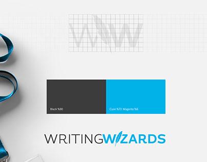 Writing Wizards Logo & Brand Identity