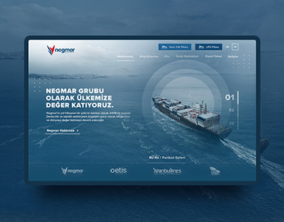 Negmar Shipping Investment Inc. Website