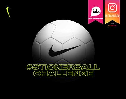 Nike StickerBallChallenge - Instagram Stories Challenge