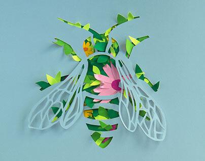 Cut Paper Art: Animals