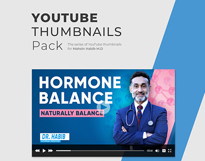 YouTube Thumbnails Pack | Dr.Habib