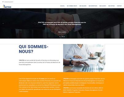 1Pacteo - Wordpress website