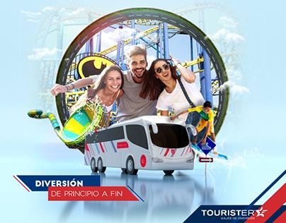 Campaña Digital - Tourister (Estrella Roja - Puebla)