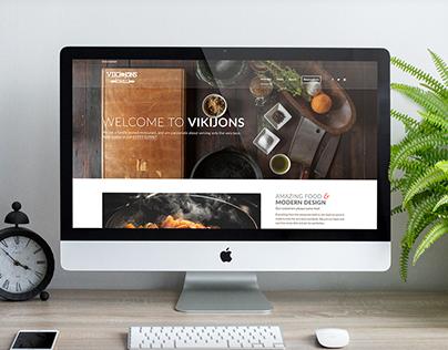 VIKIJONS Website design work