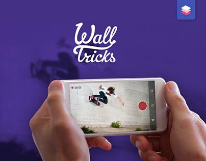 Wall Tricks app - record and share skateboard tricks