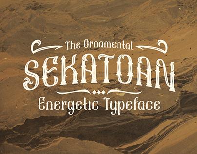 Sekatoan Typeface