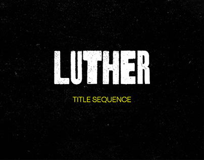 Luther - Title Sequence